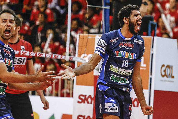 Taubaté despacha Sesi-SP e chega pela 1ª vez à final da Superliga