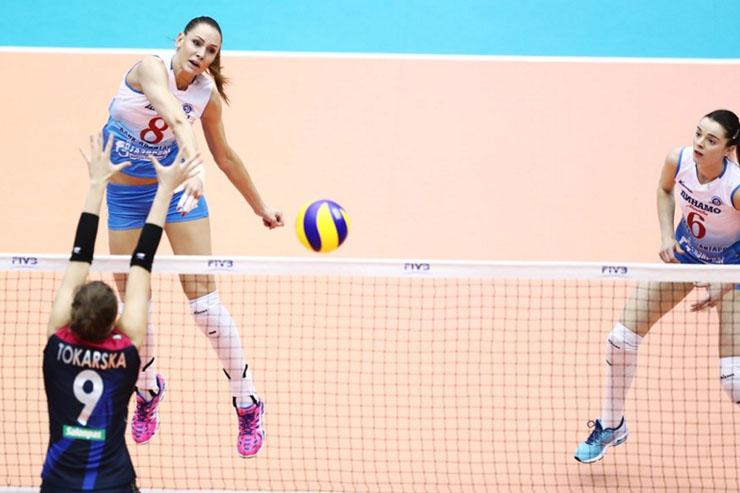 Ataque de Goncharova preocupa Rexona-Sesc para jogo decisivo em Kobe