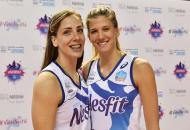Recém-chegadas, Malesevic e Bjelica já se sentem em casa no Vôlei Nestlé