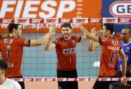 Sesi-SP vira para cima do Sada e avança à final da Copa Brasil