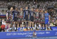 Vice-campeão, Perugia domina premiação da Liga dos Campeões