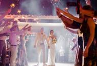 Estrelas do vôlei se reúnem em casamento de Amanda no RN