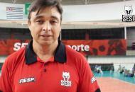 Sesi-SP oficializa Rubinho como novo técnico do time masculino