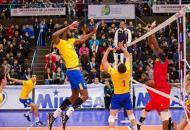 Brasil encara o Chile nas semis do Sul-americano